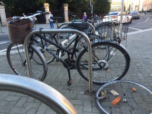 Cyclists view bike theft as an unwelcome part of bike ownership.