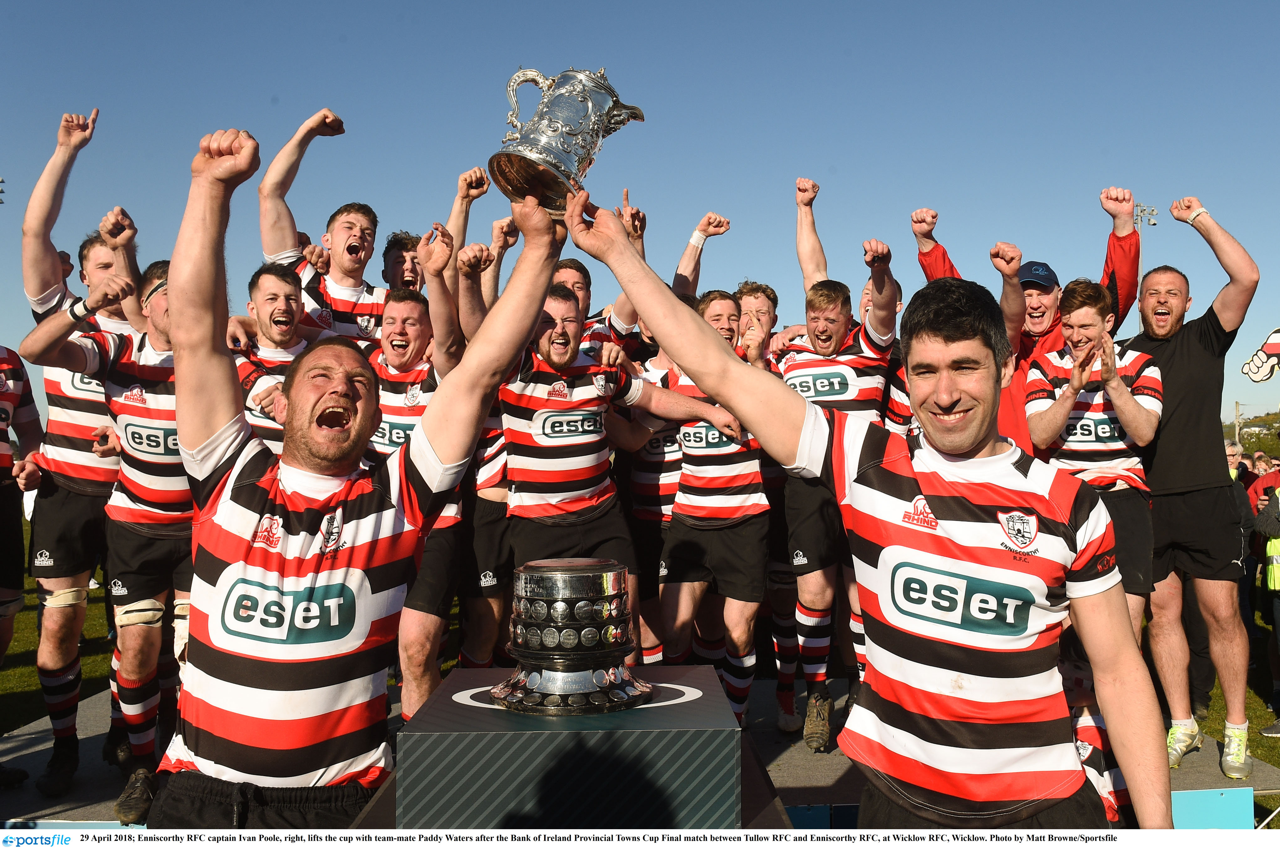 image of 106 years of Enniscorthy rugby history in 13 minutes
