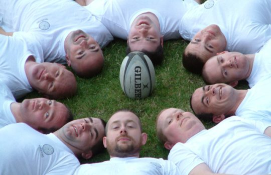 image of Ireland's first inclusive LGBT+ rugby team
